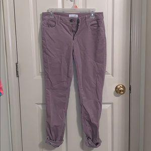 Lavender corduroy pants